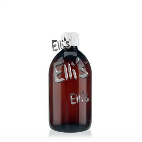 PET Flasche 500ml braun