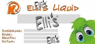Beschreibbare Elli's Etiketten