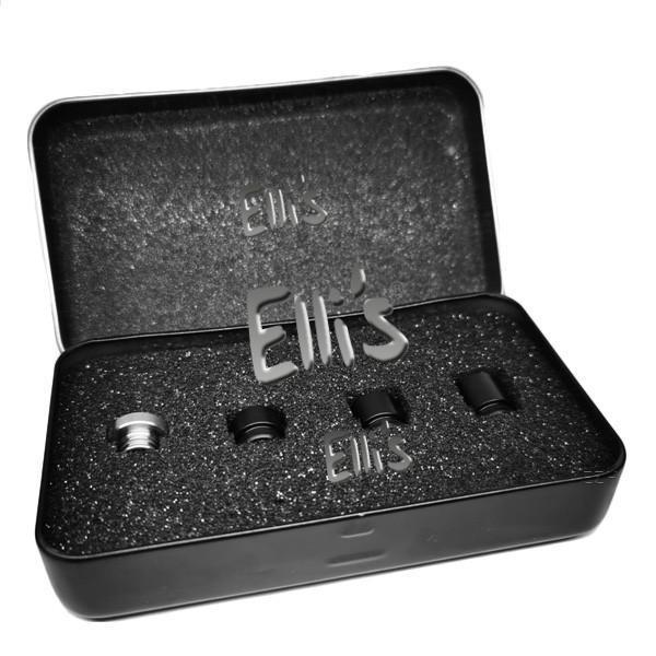 Goldrausch Royal Edition No. 2 Drip Tip Set - glatt