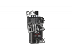 MAG POD E-ZIGARETTEN SET - gunmetall