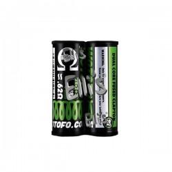 Wotofo Prebuilt Ni80 Dual Core Fused Clapton Coil 0.62 Ohm (2x28GA+38GA) - WPBC3